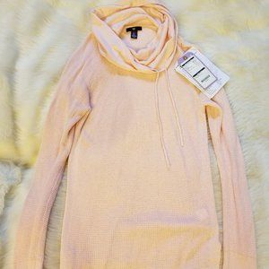 Gap Cowl Neck Waffle Knit Sweater Pullover Sm.NEW